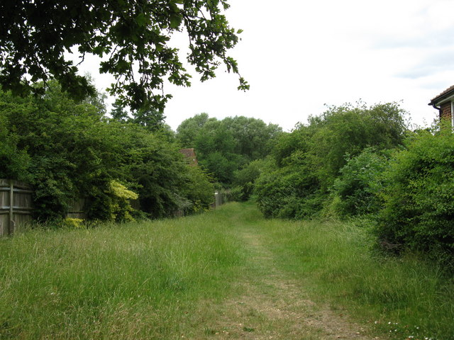 Path from Radstock Lane