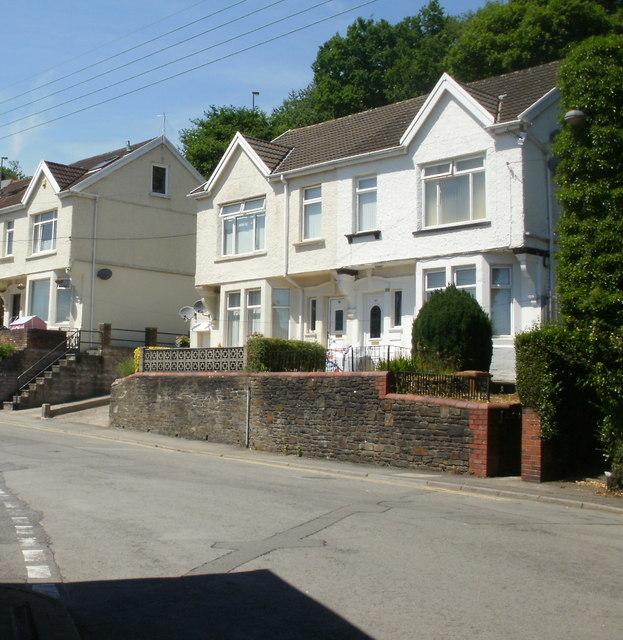 Tynewydd Terrace, Newbridge