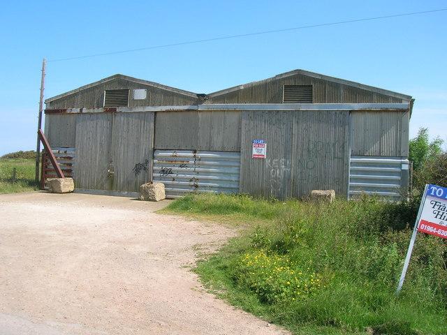 Farm buildings, Seaside Road, Holmpton