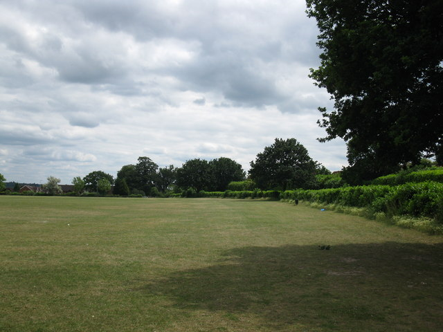Playing field at Laurel Park, Earley