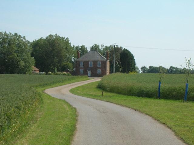 Track to Trinity  House Farm