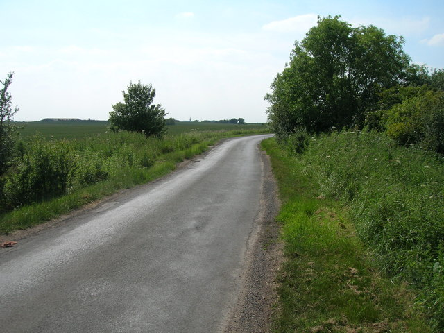 Wakefield Lane towards Patrington