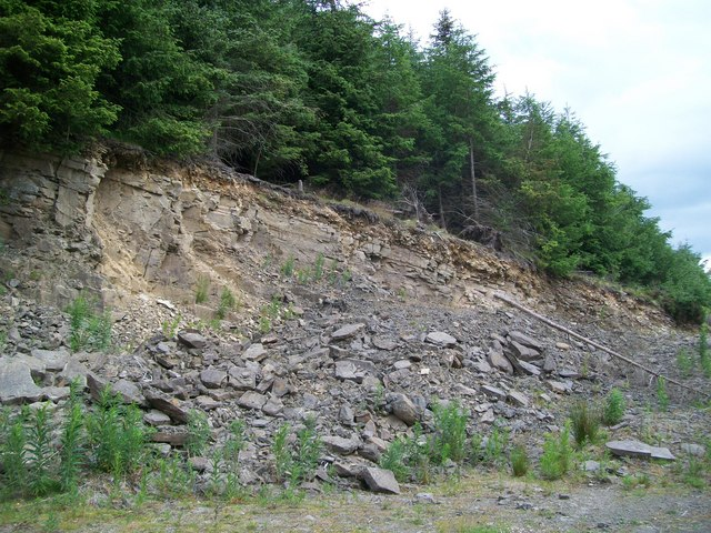 Quarry on south face of Ysgwydd Hwch