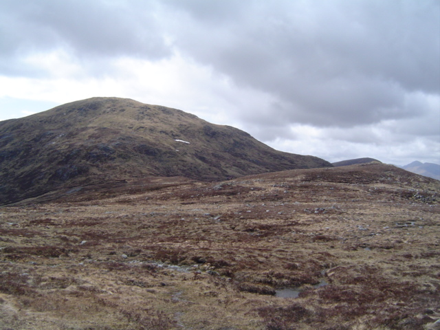Eastern slope of Geal Charn