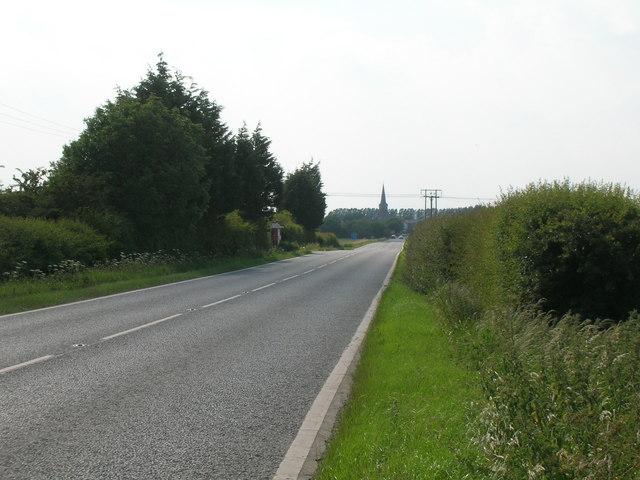 A1033 towards Ottringham