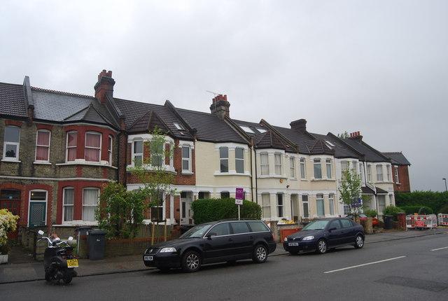 Terraced houses, Lewin Rd