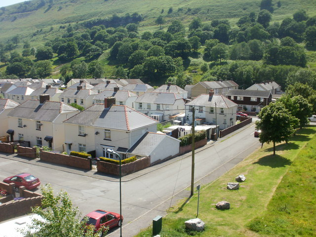 A view from Cwm footbridge