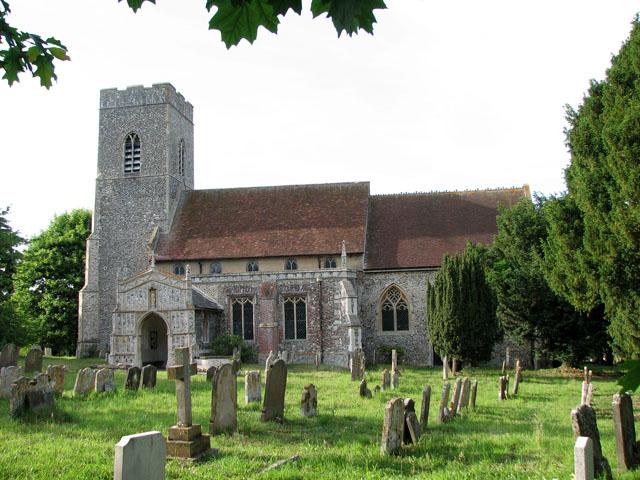 St Mary's church in Huntingfield