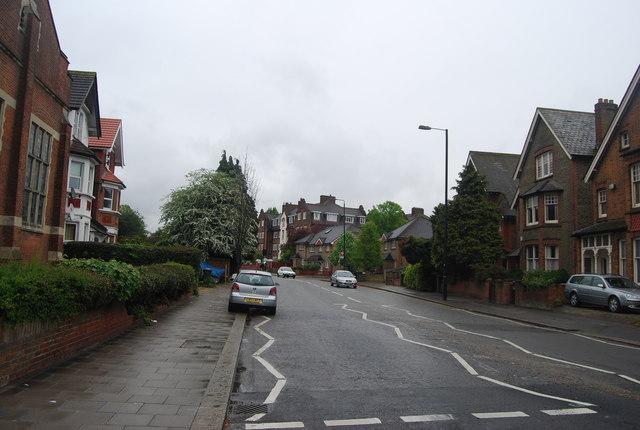 Mitcham Lane (A216): north east