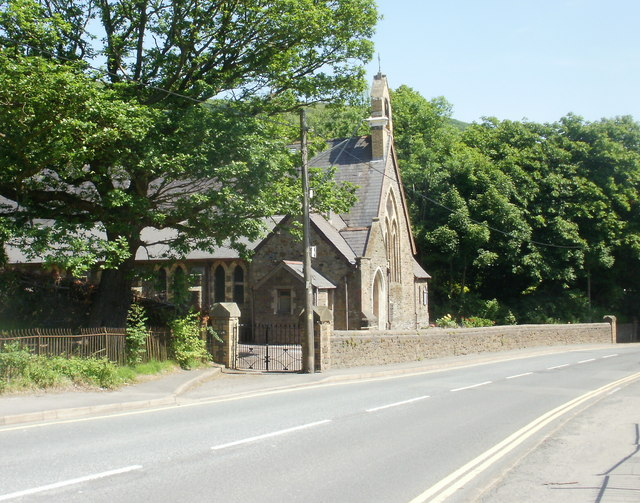 St Paul's Church, Cwm, viewed from the NW