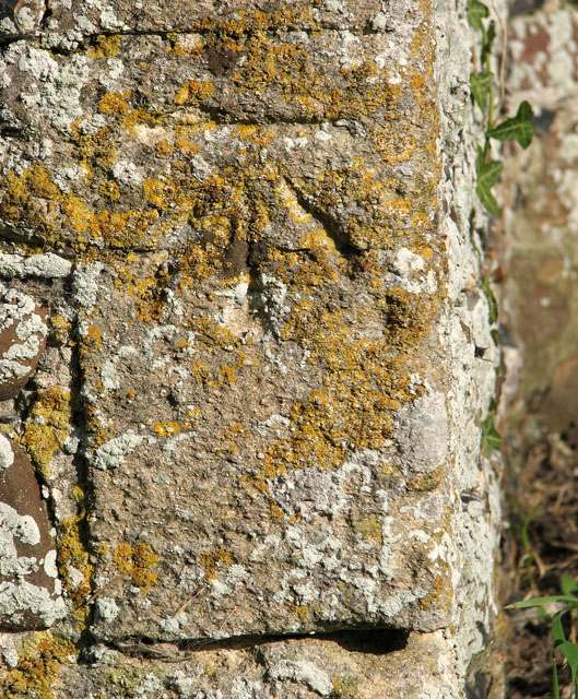 St Mary's church in Huntingfield - benchmark
