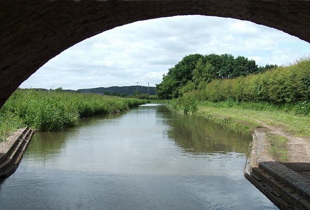 Birmingham and Fazeley Canal north of Bonehill, Staffordshire