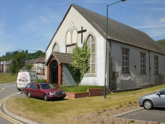Cwm : St Paul's Church parish hall