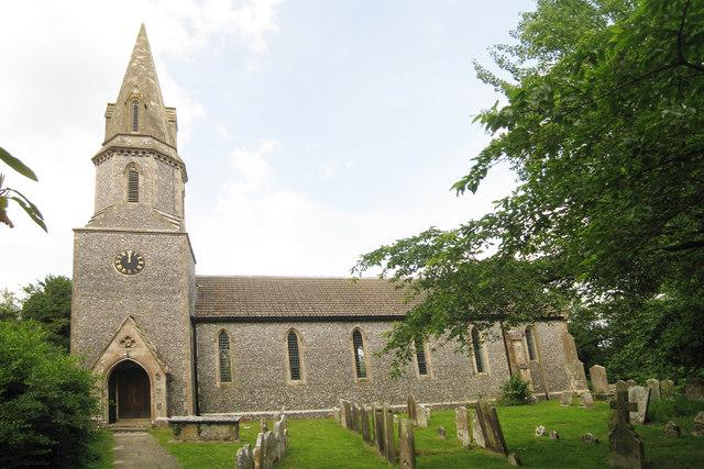 Church of St Mary's, School Lane, Lower Hardres