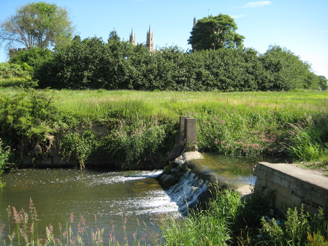 Weir on the River Swilgate