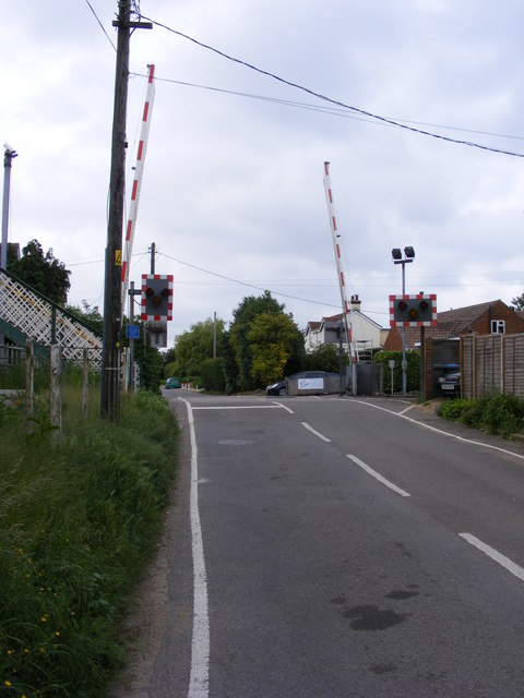 Level Crossing, Trimley Station