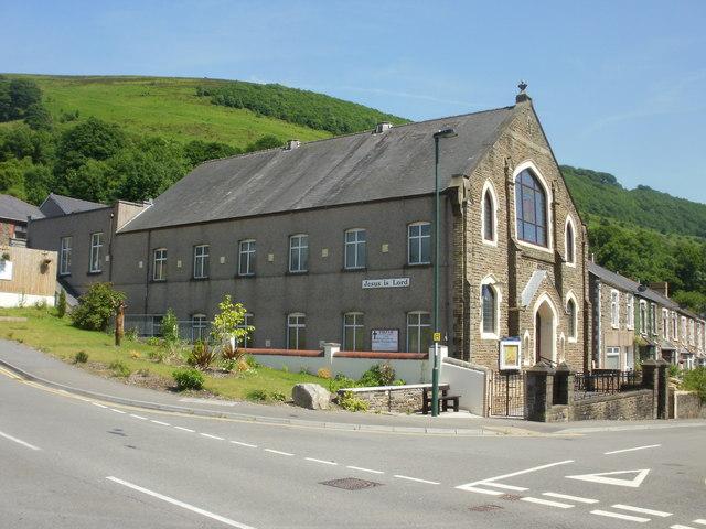 Tirzah Baptist Church, Cwm