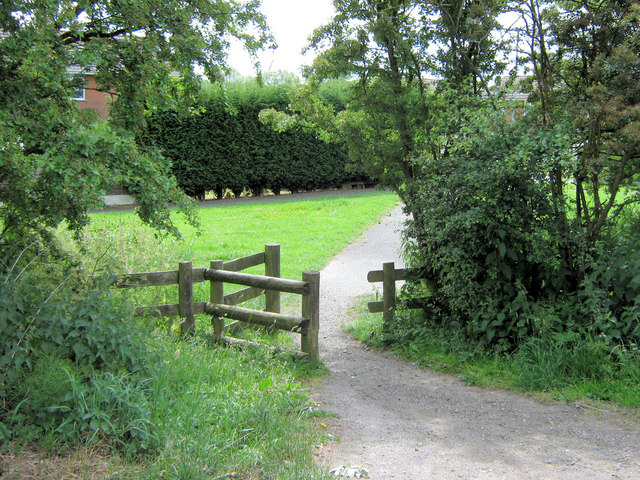 Footpath from Cooper's Way