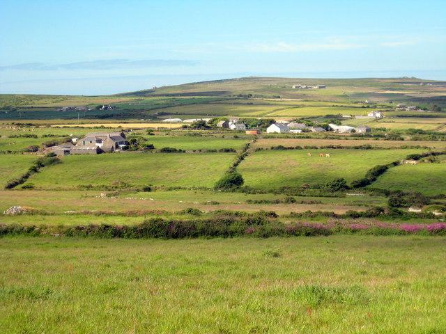 Farm buildings at Great Bosullow