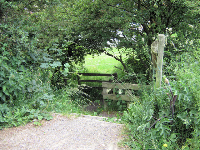 Access to the Biddulph Valley Way