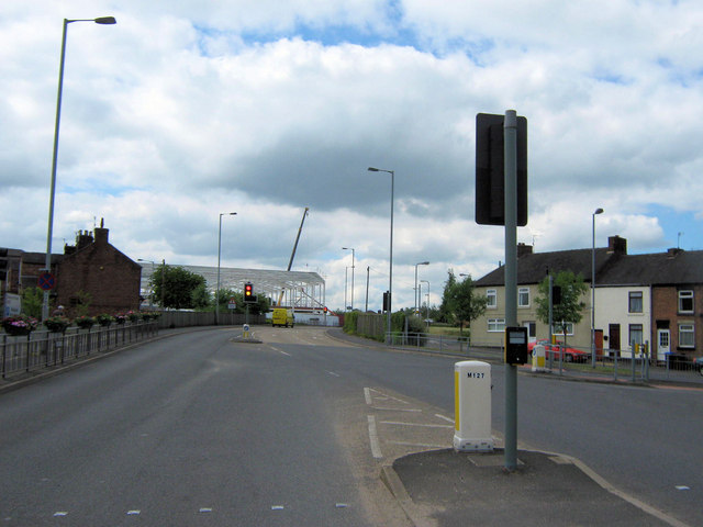 Junction of Station Road and Meadow Way