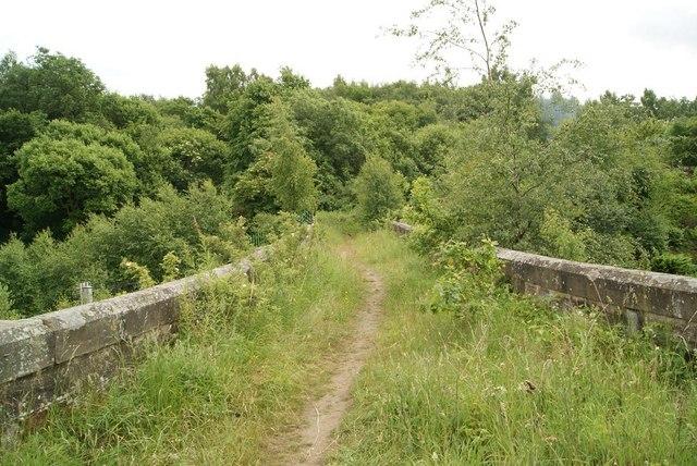 Old Bridge Over The Railway, near Dullatur