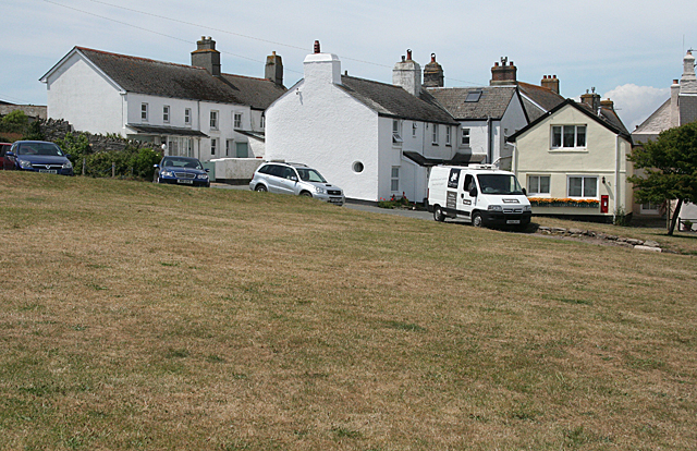 Chivelstone: village green at East Prawle