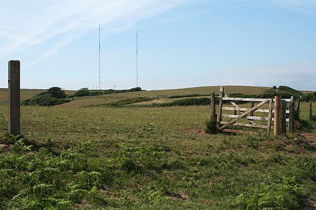 Stokenham: Start Point radio masts