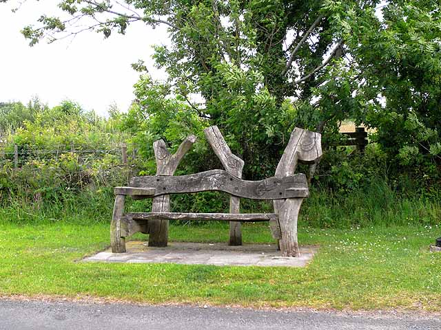 Wayside bench, Low Row