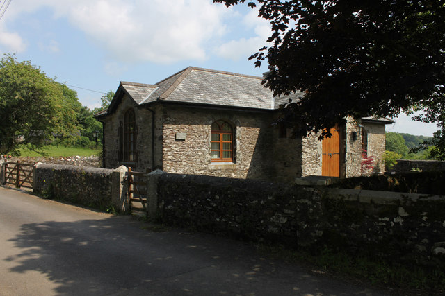 The Old Schoolhouse, North Brentor