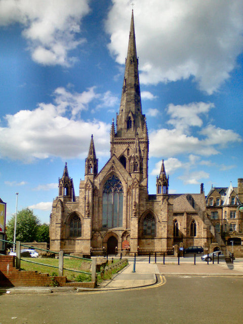The Cathedral Church of St John the Evangelist, Salford
