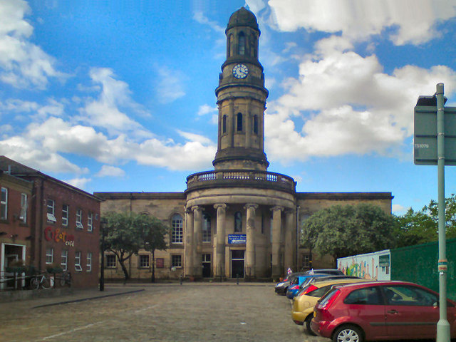 The Church of St Philip with St Stephen, Salford