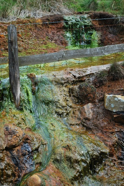Mineral-rich spring