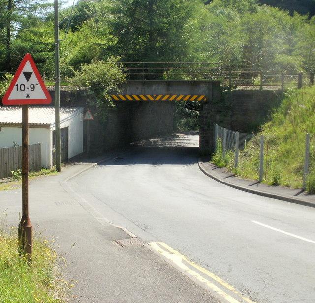 Aberbeeg railway bridge