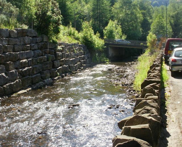 Ebbw river, Aberbeeg
