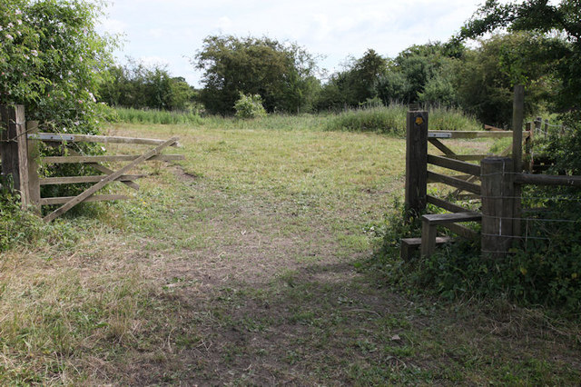 Stile and broken gate