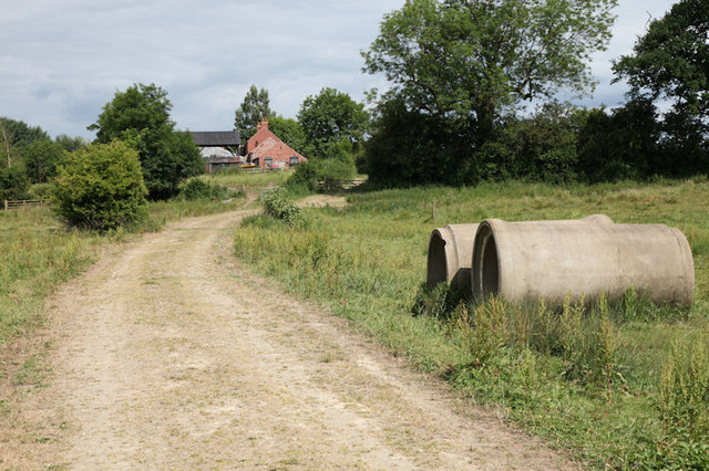 Track leading to Town End Farm
