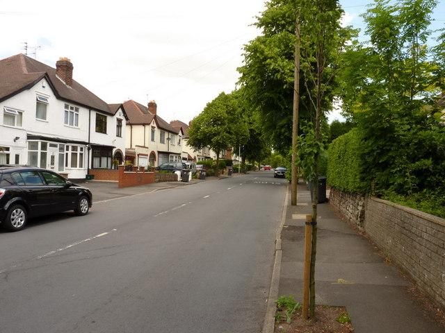 Goldthorn Avenue, Goldthorn Hill