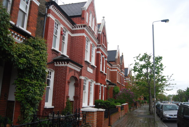 Victorian houses, Ritherdon Rd