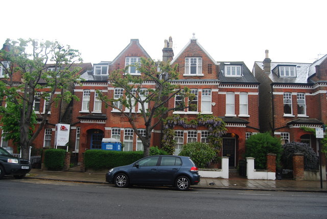 Large Victorian houses, Ritherdon Rd