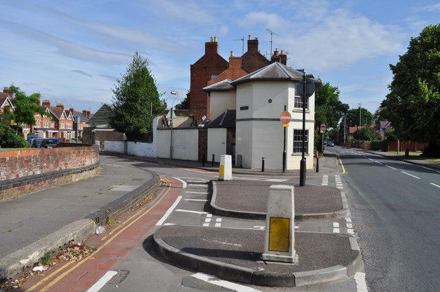 Junction of Kingsholm Road and Sandhurst Road