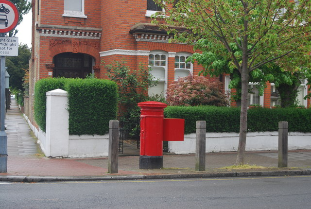 Postbox, corner of Foxbourne Rd and Ritherdon Rd
