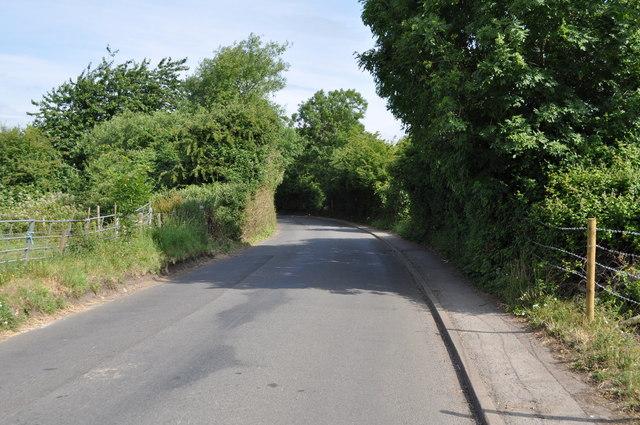 Sandhurst Road, looking towards Walham