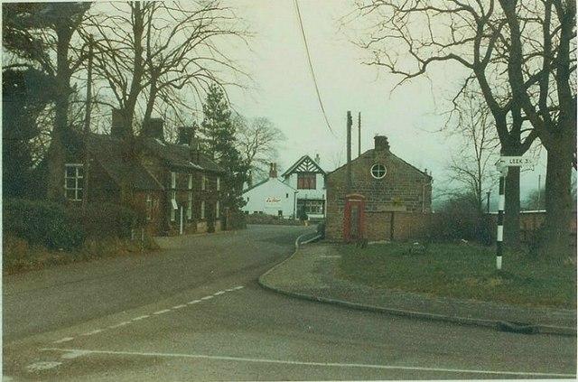 Meerbrook Youth Hostel in 1984