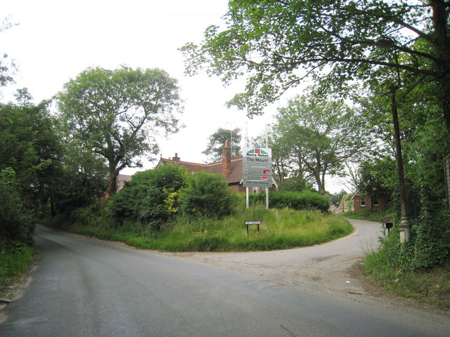 Junction of The Mount