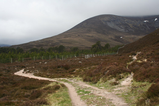 Glen Luibeg path junction