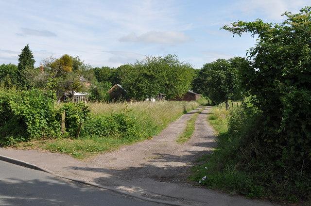 The driveway to Castle Villa