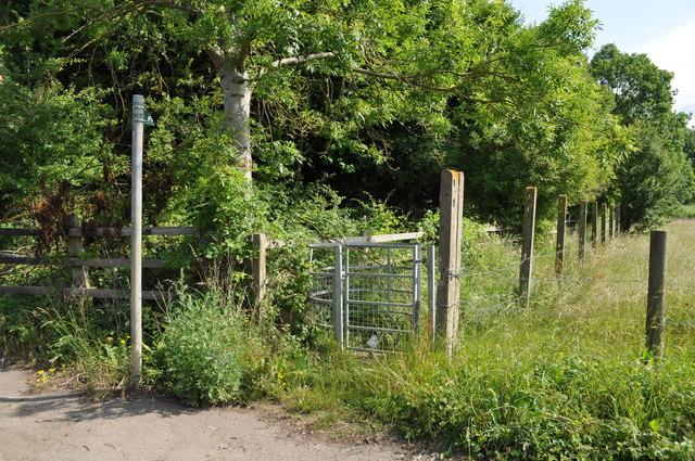 Footpath towards Longford