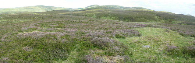 Hut circle north east of Loch Crannach