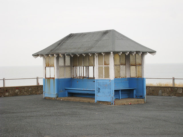 Shelter overlooking St Mildred's Bay